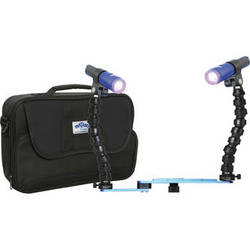 Fantasea Line Twin Action 700 Lighting Set for Compact Digital or GoPro Housing