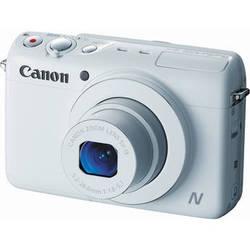 Canon PowerShot N100 Digital Camera (White)
