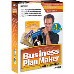 Individual Software Business PlanMaker Professional Deluxe 9 (Download)