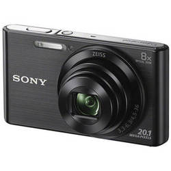 Sony DSC-W830 Digital Camera (Black)