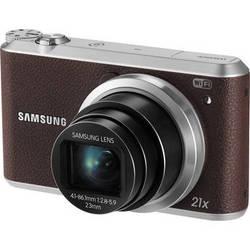 Samsung WB350F Smart Digital Camera (Brown)