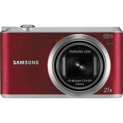 Samsung WB350F Smart Digital Camera (Red)
