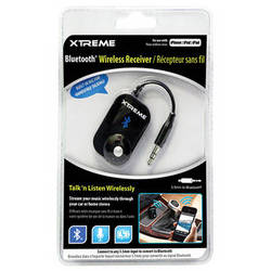 Xtreme Cables Bluetooth Wireless Receiver with Microphone