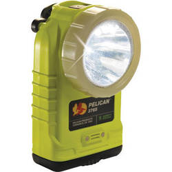 Pelican 3765 Rechargeable LED Flashlight (Yellow, PL Shroud, without Charger)