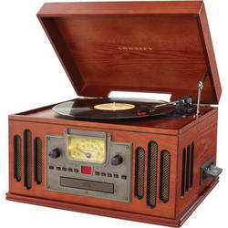 Crosley Radio CR704 Musician Entertainment Center (Paprika)