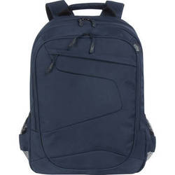 """Tucano Lato Backpack for 15.6"""" & 17"""" Notebooks, 17"""" MacBook Pro, & 15"""" MacBook Pro with Retina Display (Blue)"""
