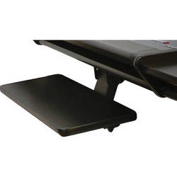 Omnirax KMSOM-SC Adjustable Keyboard / Mouse Shelf for OmniDesk (Storm Cirus HPL)