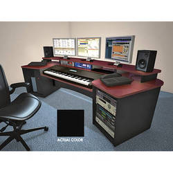 Omnirax Force K88 Keyboard Composing Workstation (Black Melamine)