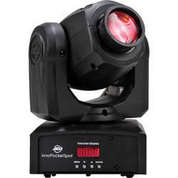 American DJ Inno Pocket Spot - Compact LED Moving Head Light (Black)
