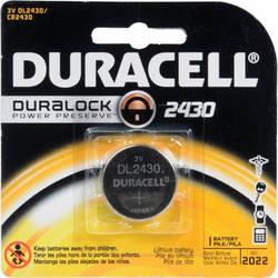 Duracell CR2430 Lithium Battery (3 V, 285 mAh)
