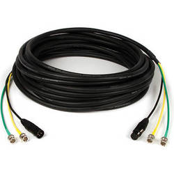 Remote Audio 2x HD-SDI & XLR AV Snake Cable (100 ft)