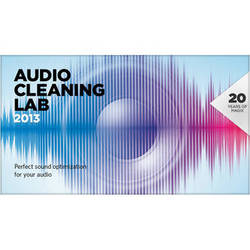 MAGIX Entertainment Audio Cleaning Lab 2013 - Audio Editing and Sound Optimization Software (Download)