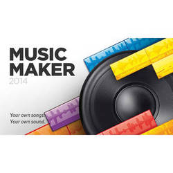 MAGIX Entertainment Music Maker 2014 - Music Creation Software (Download)