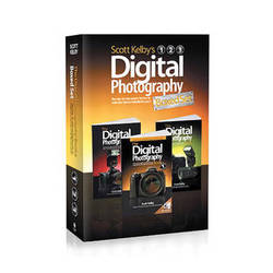 Peachpit Press Book: Scott Kelby's Digital Photography Boxed Set, Volumes 1-4, Updated Edition