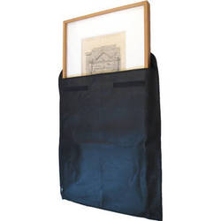 "Start by Prat 40x40x1.5"" Canvas and Frame Envelope (Black)"