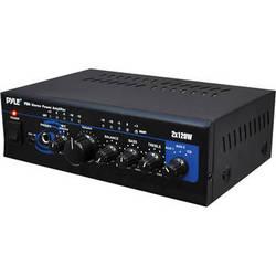 Pyle Pro PTA4 Mini 2 x 120 Watt Stereo Power Amplifier w/ AUX/CD Input