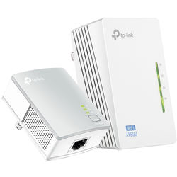 TP-Link TL-WPA4220KIT Wireless-N300 Range Extender AV500 Powerline Edition