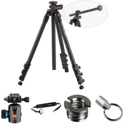 Oben CC-2461L Carbon Fiber Lateral Tripod with BE-126T Ball Head