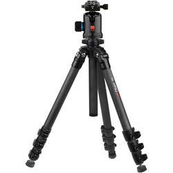 Oben CC-2491 Carbon Fiber Tripod and BC-166 Ball Head Kit