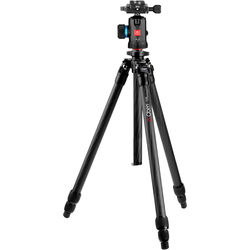 Oben CT-2341 Carbon Fiber Tripod and BE-117 Ball Head Kit