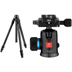 Oben CT-2361 Carbon Fiber Tripod and BE-117 Ball Head Kit