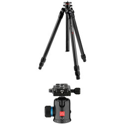Oben CT-2361 Carbon Fiber Tripod and BC-126 Ball Head Kit