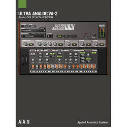 Applied Acoustics Systems Ultra Analog VA-2 - Virtual Synthesizer (Download)