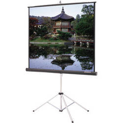 "Da-Lite 40124 Picture King Tripod Front Projection Screen (60x60"")"