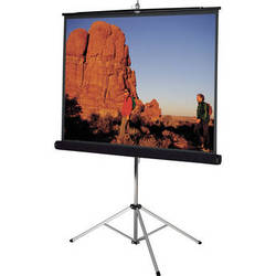 "Da-Lite 93876 Picture King Tripod Front Projection Screen (96x96"")"