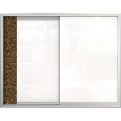 """Best Rite Visionary Glass Sliding Enclosed Cabinet (36 x 48"""")"""