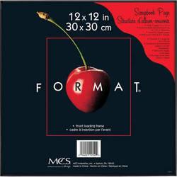 """MCS Format Frame (12 x 12"""", Black)"""