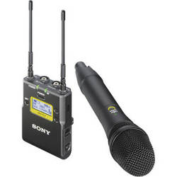 Sony UWP-D12 Integrated Digital Wireless Handheld Microphone ENG System (UHF Channels 30/36 and 38/41: 566 to 608 and 614 to 638 MHz)