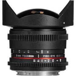 Samyang 8mm T3.8 UMC Fish-Eye CS II Lens (Canon EF Mount)