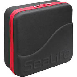 SeaLife Large Sea Dragon Case for DC1400 Underwater Camera and Sea Dragon Flash Pro Set (Black, Red Zipper)