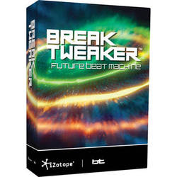 iZotope BreakTweaker - Drum Sculpting and Beat Sequencing Virtual Instrument (Download)