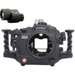 Aquatica AD4 Underwater Housing for Nikon D4 with Aqua VF (Ikelite TTL Strobe Connector)