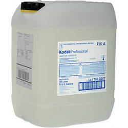 Kodak 1973247 Rapid Fixer, Solution A (5 Gallon Concentrate, Makes 20 Gallons)