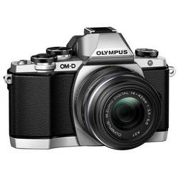 Olympus OM-D E-M10 Mirrorless Micro Four Thirds Digital Camera with 14-42mm Lens (Silver)