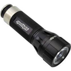 SpotLight Rescue LED Rechargeable Flashlight (Jet Black)