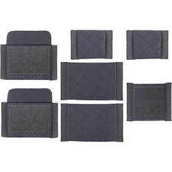 Ruggard Divider Set for the Commando Pro 65 and Navigator 65 Shoulder Bags (Pack of 7, Gray)