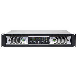 Ashly nX Series NX4004 4-Channel 400W Power Amplifier with Programmable Outputs