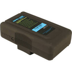 Cool-Lux Anton Bauer Gold Mount 130 Wh Battery for CL500 / 1000 / 2000 LED Lights