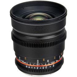 Bower 16mm T2.2 Cine Lens for Nikon F Mount