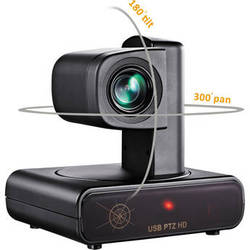 VDO360 HD PTZ USB Camera with 12x Optical Zoom for Video Conferencing