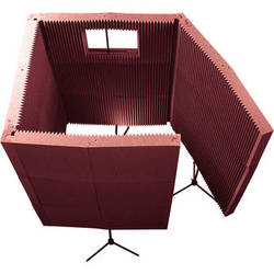 Auralex MAX-Wall 1141 - Portable Recording Booth Kit (Burgundy)
