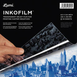 "INKODYE Inkofilm Inkjet Film (8.5 x 8.5"", 10 Sheets)"