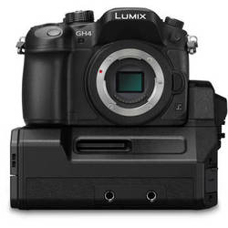 Panasonic Lumix DMC-GH4 Mirrorless Micro Four Thirds Digital Camera with Interface Unit