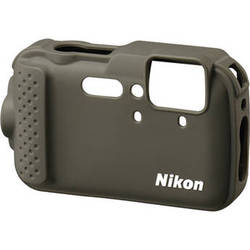 Nikon CF-CP001 Silicone Jacket for COOLPIX AW120 Digital Camera (Khaki)