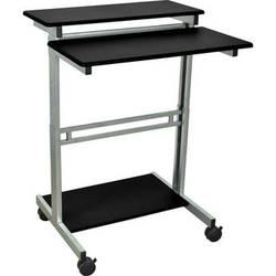 """Luxor Stand-Up Workstation (Black, 31.5"""")"""