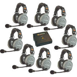 Eartec COMSTAR 8-Person Wireless Intercom System
